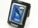 Zippo ジッポー ライター シンプルモデル 泳ぐ女性とイルカ